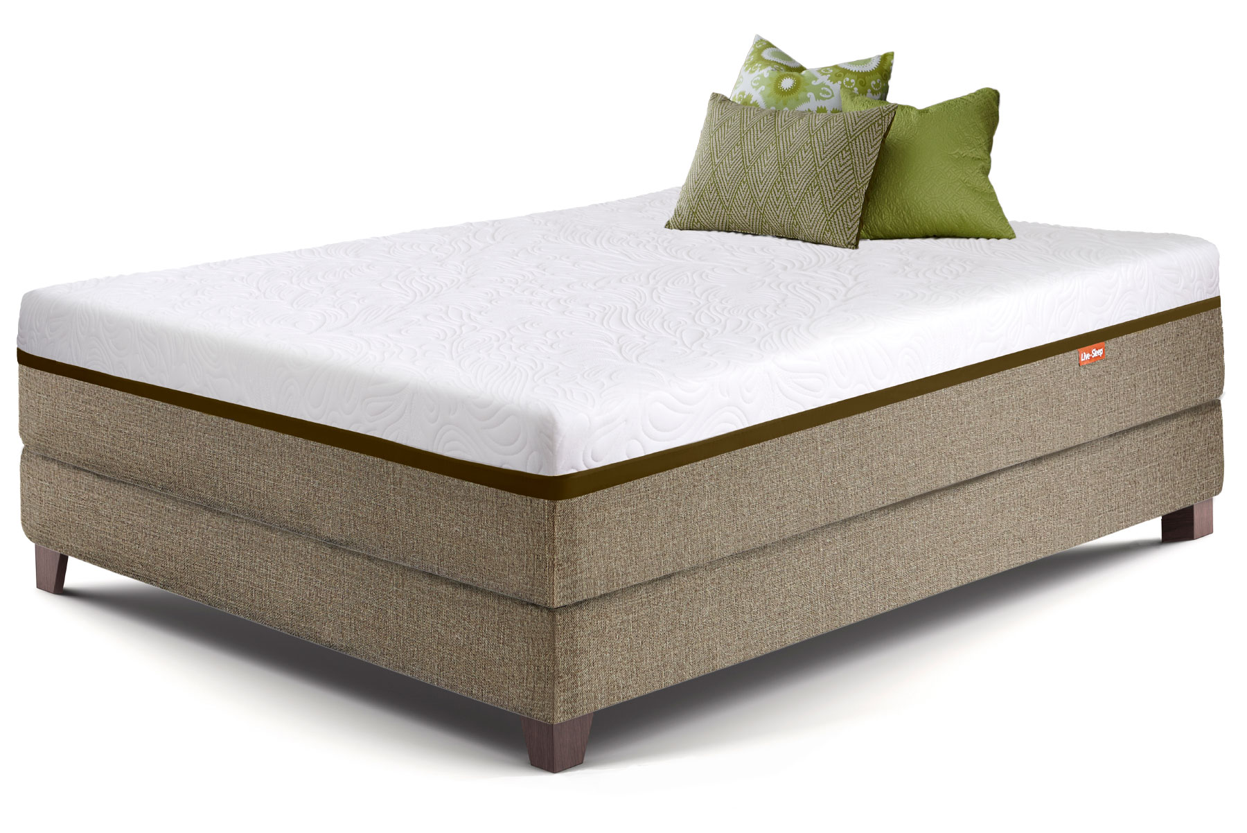 Firm gel memory foam mattress