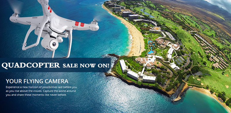 Quadcopter Sale Now On!