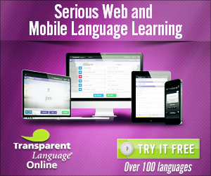 Transparent Language Learning Software