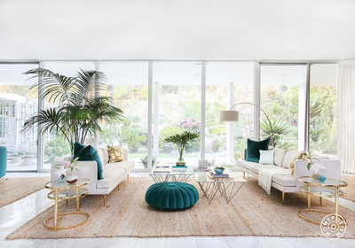 Kelly Oxford's Palm Springs-Inspired Paradise Designed by Homepolish