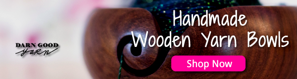 Shop Now for Handmade Wooden Yarn Bowls