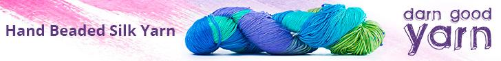 Hand Beaded Silk Yarn - 7 Pack