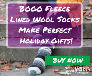 Fleece Lined Wool Socks