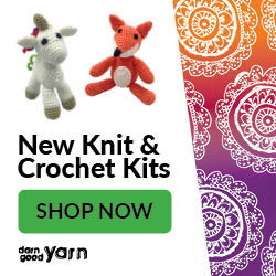 Brand New Knit & Crochet kits