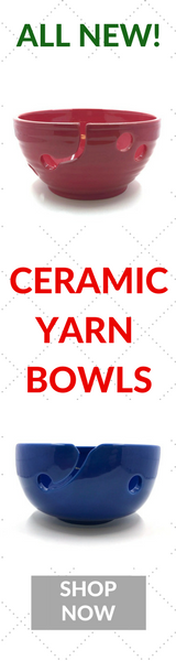 NEW Ceramic Yarn Bowls