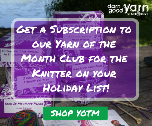 Darn Good Yarn of The Month