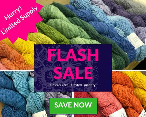 Flash Sale at Darn Good Yarn