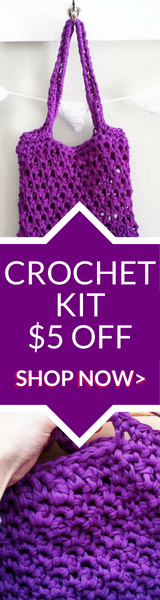 VIOLET SUMMER TOTE CROCHET KIT