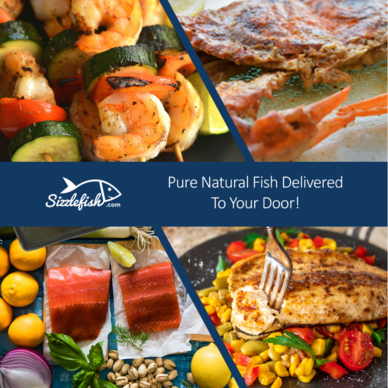 Sizzlefish - Pure Natural Fish Delivered To Your Door