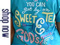 Itsa Girl Thing shirts banner shop now