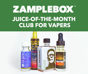 ZampleBox Best E-Juice and Best E-Liquid Subscription for Vapers