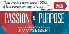 Passion & Purpose: Believing The Church Can Still Change The World by Jimmy Seibert, Max Lucado endorsement