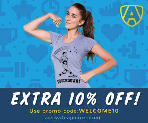 Activate Apparel Promo Code