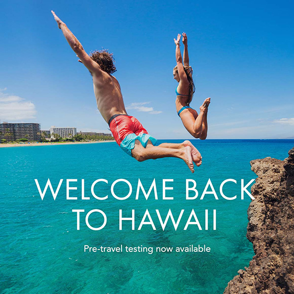 Welcome back to Hawaii: Pre-travel testing available!