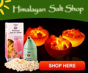 Can Salt Lamps Leak : Himalayan Salt Shaker