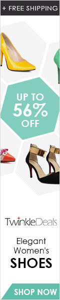 Enjoy up to 56% off and free shipping for shoes, its high quality and special design will make you look more charming!