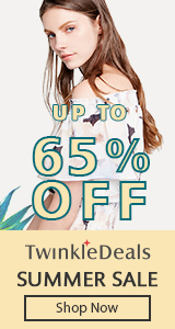 Twinkledeals Summer Sale, Up to 65% OFF and Free Shipping Worldwide, Take it Home!