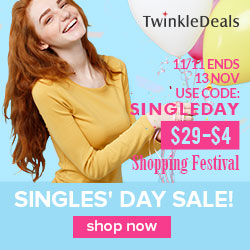 2017 Singleday Shopping Festival, Unlimited Coupon, Don't Miss Out