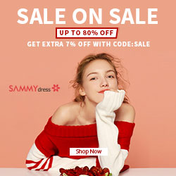 Sammydress Sale On Sale Up To 80% OFF, Get Extra 7% OFF With Code: Sale