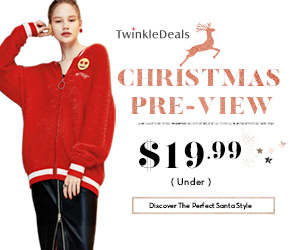 Let's discover your best Santa style with Twinkledeals! All under $19.99! Free shipping worldwide!