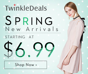 Spring New Arrivals: Starting at $6.99 + aFree Shipping!