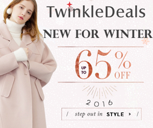 Let's step out in style this winter with Twinkledeals! Shop our new arrivals for winter and enjoy up to 65% OFF! Free shipping worldwide!