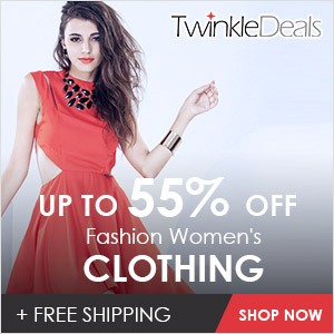 Welcome to twinkledeals.com, you can enjoy free shipping and up to 55% off, just come here and get what you like!