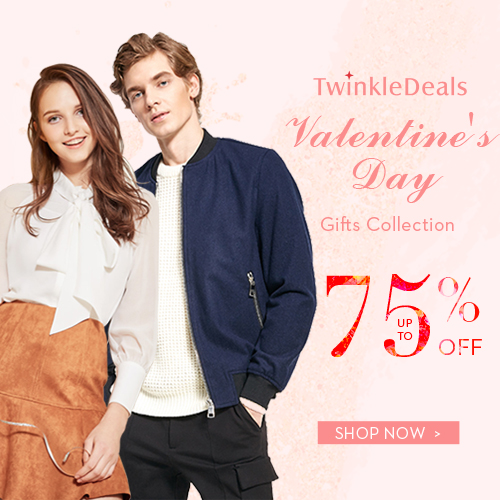 Valentine's Day Sale: Up to 75% OFF + Free Shipping!