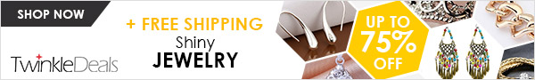 Enjoy up to 75% off and free shipping for all jewelry, what are you waiting for? Shop now!