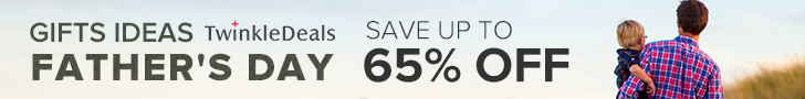 Father's Day Sale: Save Up to 65% OFF and Free Shipping!