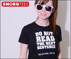donotread 300 250 2 T SHIRT OF THE DAY — Free Contradictions