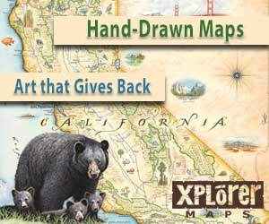 Xplorer Maps - Art Gives Back - California