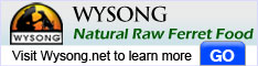 Natural Raw Ferret Food