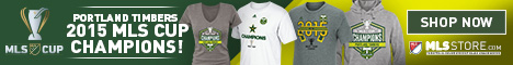 Shop for Portland Timbers 2015 MLS Cup Champs Gear at MLSStore.com