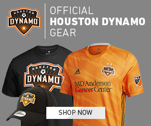 Official Houston Dynamo Available at MLSStore.com