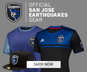 Official San Jose Earth Quakes Gear Available at MLSStore.com