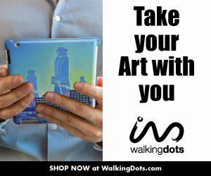Take your Art with you at WalkingDots