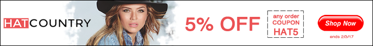 5% OFF at HatCountry with Coupon Code HAT5