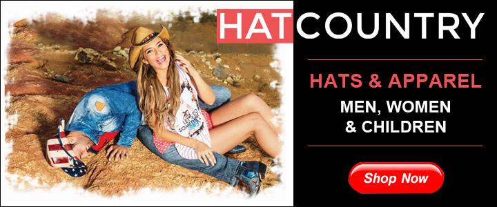 Cowboy, Cowgirl Hats, Western Apparel HatCountry!