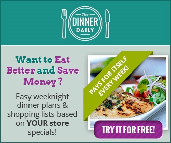 white plate with fresh meal and text overlay