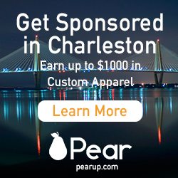 Get Sponsored with Pear in Charleston
