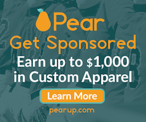 Get Sponsored with Pear