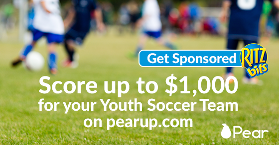 Get up to $1000 for your Youth Soccer Team from Ritz Bits