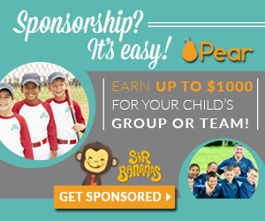 Get up to $1000 in sponsorship money towards custom apparel or cash donation for youth groups & teams from Sir Bananas. Youth groups and teams; ages 13 & younger. Colorado, Indiana, Michigan and Ohio only.