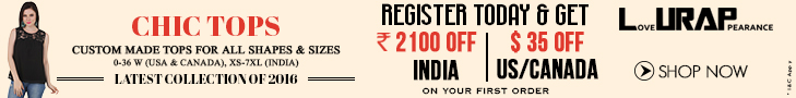 Register Now and Get Discount On Your 1st Order @ Lurap.com on Tops Category