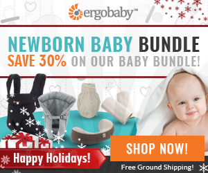 Save 30% with the Holiday Newborn Baby Bundle