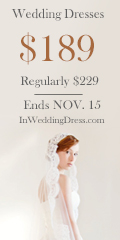 WEDDING DRESSES $189