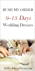 Rush My Order 9-13 Days for Wedding Dresses