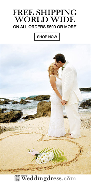 Free Shipping on Wedding Dresses