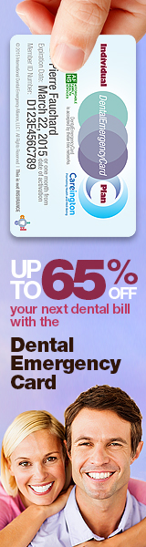 Save up to 65% OFF your next dental bill